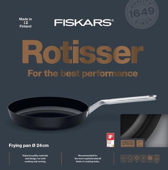 Fiskars Rotisser ponev, 24 cm