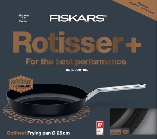 Fiskars Oyster Rotisser ponev, 28 cm