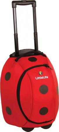 LittleLife Animal Wheelie Duffle - Ladybird