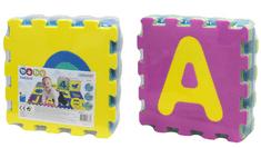 Unikatoy spužvaste puzzle Baby 24916, 24 slova, 9kom