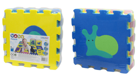Unikatoy Spužvaste Puzzle Baby 24918, 9kom, životinje