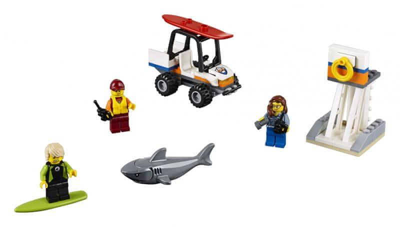 LEGO® City 60163 Pobřežní hlídka - začátečnická sada