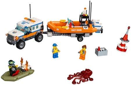 LEGO City Coast Guard 60165 Vozilo enote za intervencijo 4x4