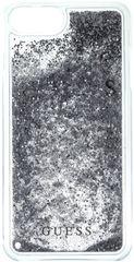 Guess Kryt Liquid Glitter Hard + stříbrná