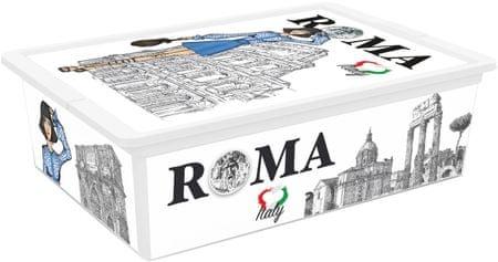 Kis škatla za shranjevanje C-Box Viva Italia, L, 27 l