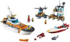 LEGO City Coast Guard 60167 Baza obalne straže