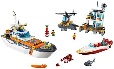LEGO City Coast Guard 60167 Baza obalne straže