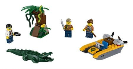 LEGO City Jungle Explorers 60157 Džungla - začetniški set