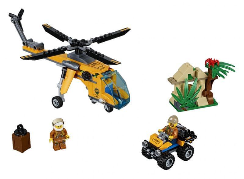 LEGO® City 60158 Nákladní helikoptéra do džungle