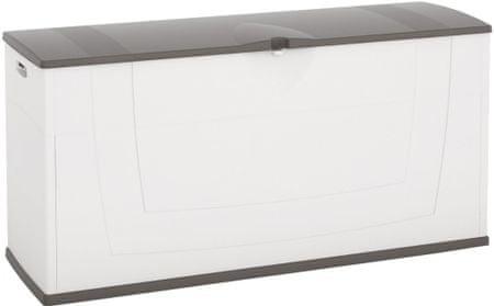 Kis škatla za shranjevanje Karisma, 200 l, bela/siva