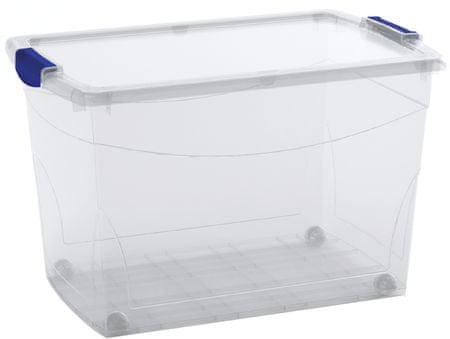 Kis škatla za shranjevanje Omni Latch Box, XL, 60 l