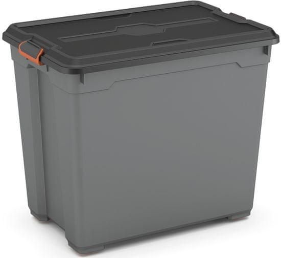 Kis kutija za pohranu Moover Box Pro XXL, 80 l, siva