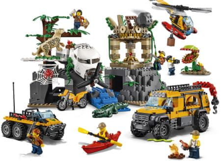 LEGO City Jungle Explorers 60161 Raziskovanje v džungli