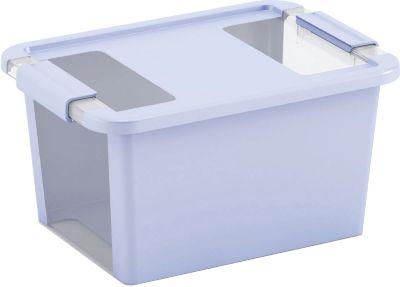 Kis škatla za shranjevanje Bi-box, S, 11 l, svetlo modra