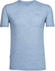 Icebreaker koszulka sportowa Mens Tech Lite SS Crewe Mist Blue Hthr/Mist Blue Hthr/Mist Blue Hthr