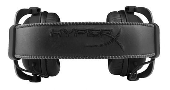 HyperX slušalke z mikrofonom HyperX Cloud II, metal črne