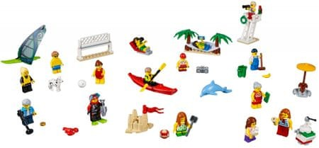 LEGO City Town 60153 Zabava na plaži