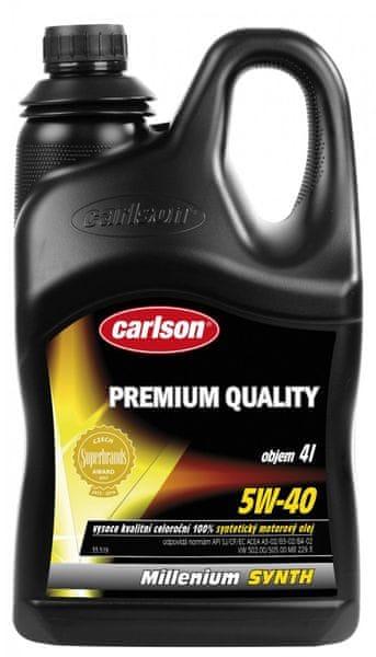 Carlson Milenium Synth SAE 5W -40, 4 L