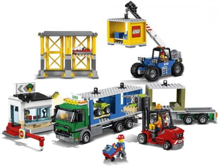 LEGO City 60169 Nákladný terminál