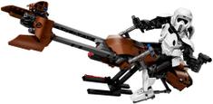 LEGO Star Wars™ 75532 Prieskumný vojak a speederová motorka