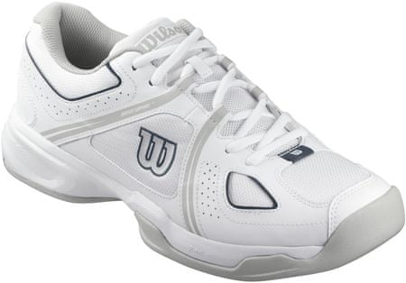 Wilson buty tenisowe Nvision Envy White/Grey/Coal Wil 42.0