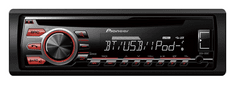 Pioneer DEH-09 BT Autórádió (CD,USB,AUX,Bluetooth,3 ÉV GARANCIA)