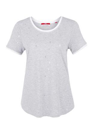 s.Oliver női póló 34 szürke