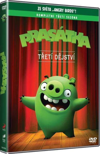 Angry Birds: Prasátka (3. série) - DVD