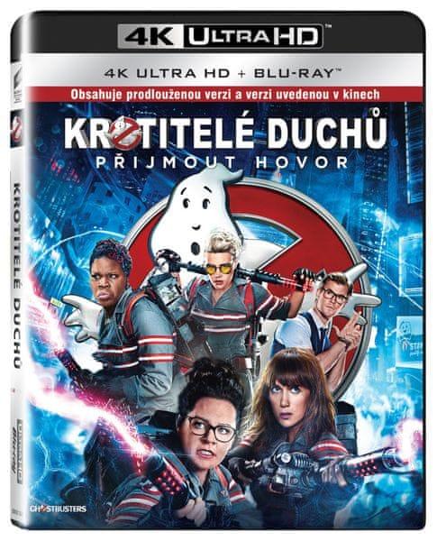 Krotitelé duchů (2016) (2 disky) - Blu-ray + 4K ULTRA HD