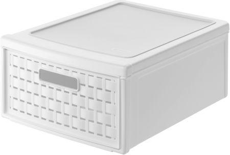 Rotho škatla za shranjevanje Country, 13 l, bela