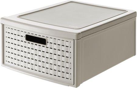 Rotho pudełko z szufladą Country, 19,2 l, beżowe