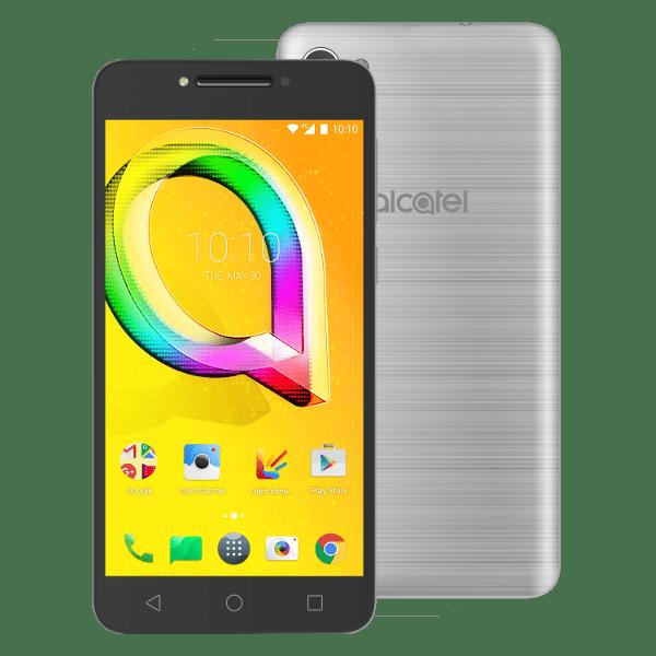 Alcatel A5 LED, 5085D, stříbrný