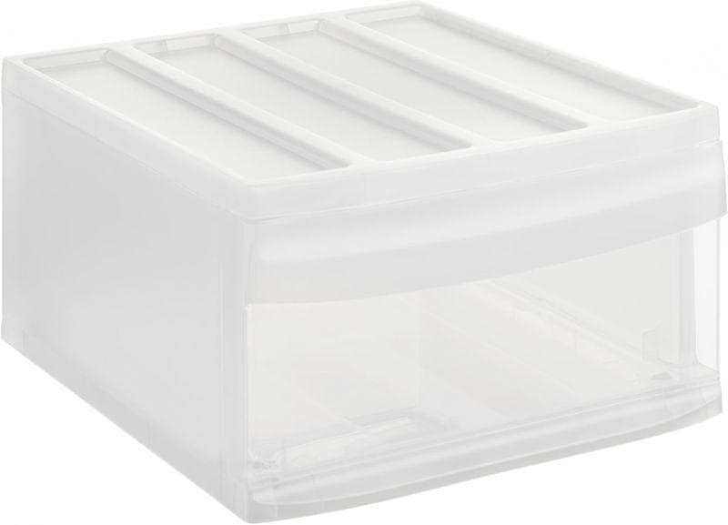 Rotho Úložný box Systemix L, bílý