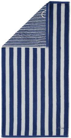 s.Oliver črtasta brisača 3701, 70 x 180 cm, rjava