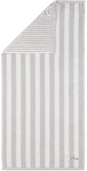 s.Oliver osuška 3701 proužky 70x180 cm šedá
