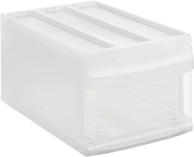 Rotho Úložný box Systemix M, bílý