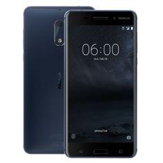 Nokia 6 Dual SIM, žíhaná - modrá