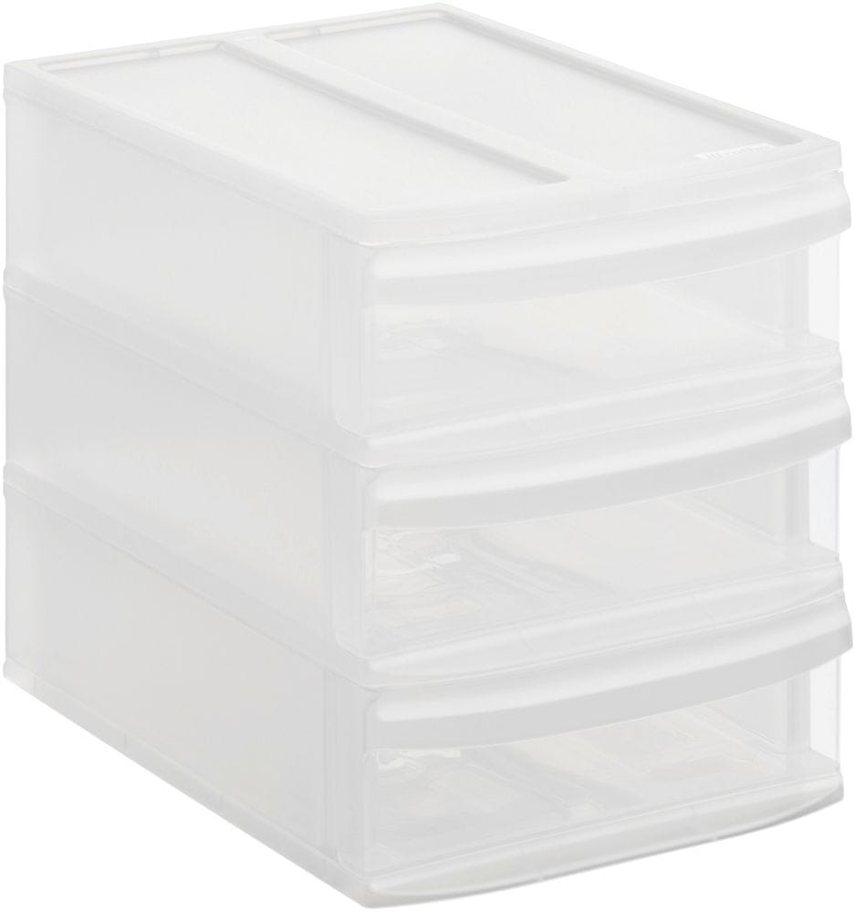 Rotho Úložný box Systemix Tower S, bílý