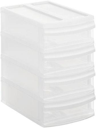 Rotho Úložný box Systemix Tower XS, bílý