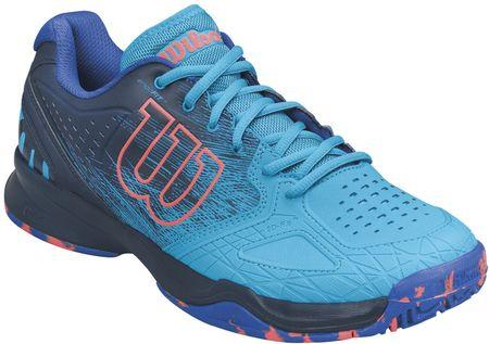 Wilson buty tenisowe Kaos Comp Hawaiian Ocean/Navy Blazer/Fiery Coral 44.7