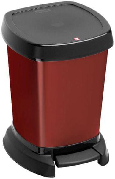 Rotho Odpadkový koš Paso 6 l, červený