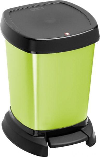 Rotho Odpadkový koš Paso 6 l, zelený