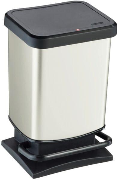 Rotho Odpadkový koš Paso 20 l, bílý