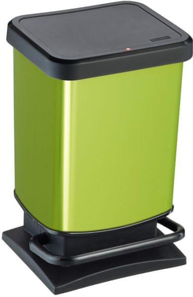 Rotho Odpadkový koš Paso 20 l, zelený