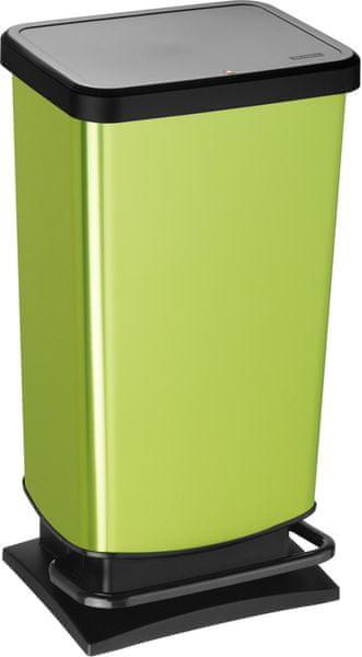 Rotho Odpadkový koš Paso 40 l, zelený