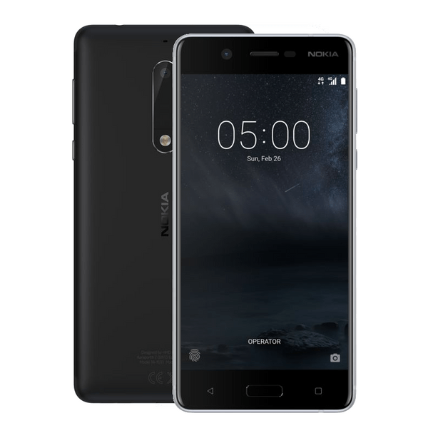 Nokia 5, matná - černá DUAL SIM