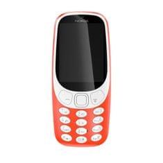 Nokia 3310 Mobiltelefon, Dual SIM, Vörös
