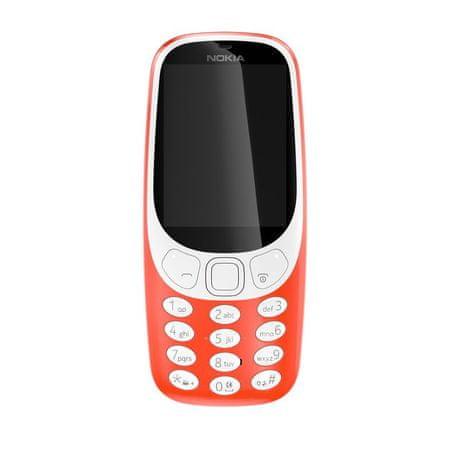 Nokia telefon komórkowy 3310, czerwony