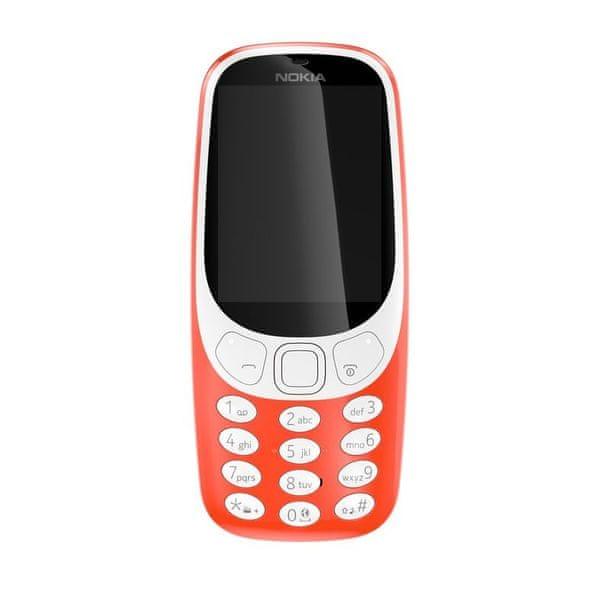 Nokia 3310 Dual SIM, červená