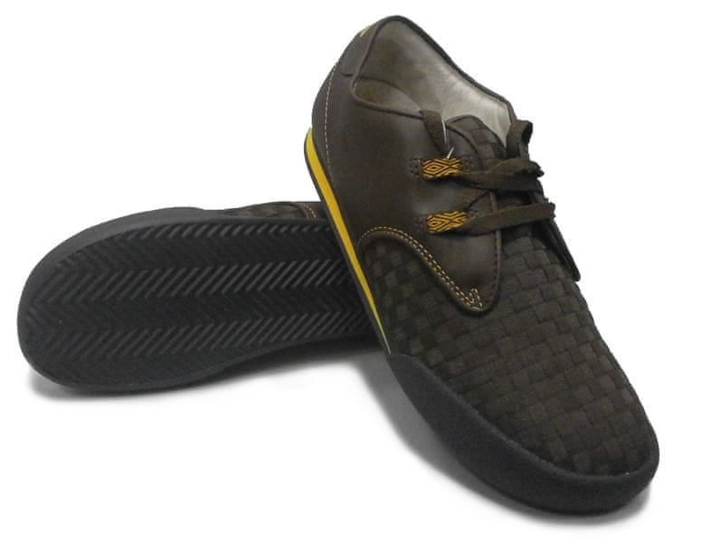 Umbro Rolly A Leather Ch.Nut/Gold 41